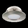 Kép 1/2 - LED-es beépíthető lámpa Integrált Led 1X6W mattnikkel  PINEDA EGLO - 95819