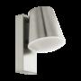 Kép 1/2 - Kültéri E27-es fali lámpa 1X9W nemesacél/fehér - CALDIERO-C - Connect Eglo - 97484